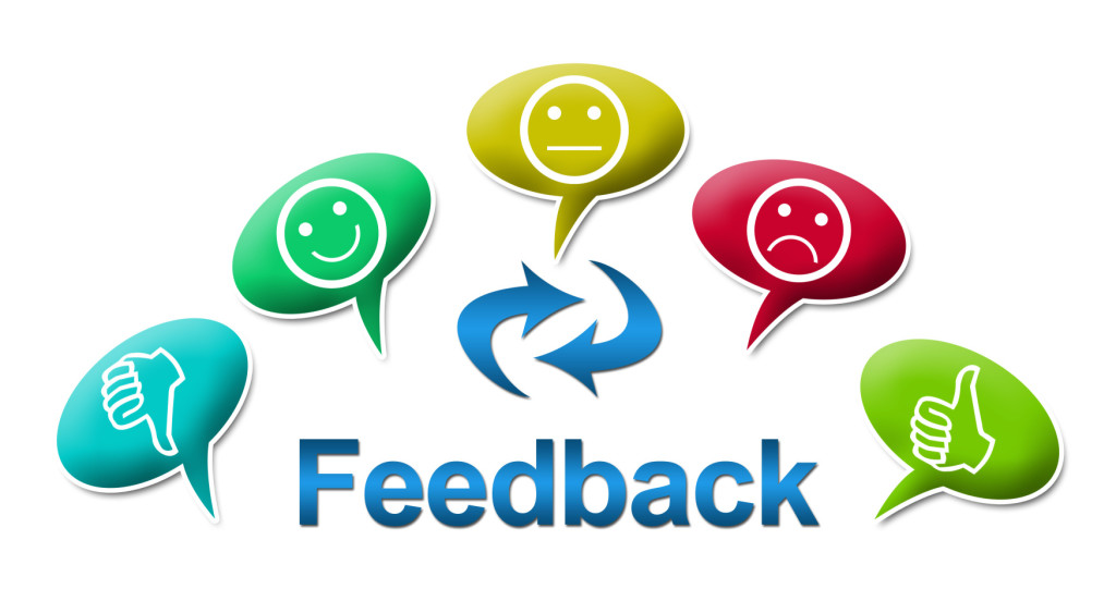 Feedback with Colourful Comments Symbol